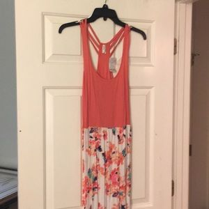 Maxi Floral Dress - New Size L